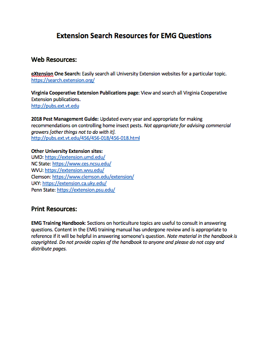 extension search tools handout